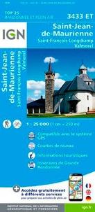 IGN - Saint-Jean-de-Maurienne, Saint-François-Longchamp, Valmorel - 1/25 000.
