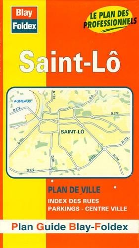 Blay-Foldex - Saint-Lô - Plan de ville.