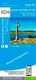 IGN - Sainte-Eulalie-d'Olt, Haute Vallée du Lot, Monts d'Aubrac - 1/25 000.