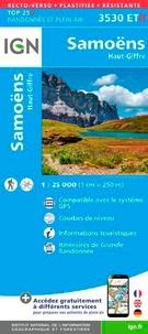 IGN - Samoens/Haut-Giffre - 1/25 000, plastifiée-résistante.