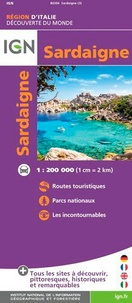IGN - Sardaigne - 1/200 000.
