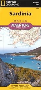 National geographic society - Sardinia - 1/220 000.