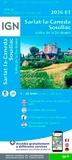 IGN - Sarlat-la-Canéda, Souillac - Vallée de la Dordogne : 1/25 000.