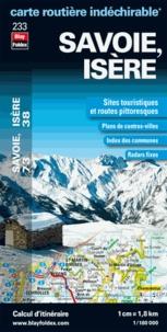 Blay-Foldex - Savoie, Isère - 1/180 000.