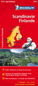Michelin - Scandinavie Finlande - 1/1 500 000.