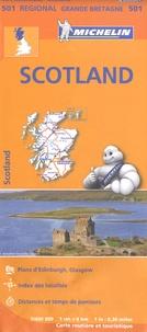 Michelin - Scotland - 1/400 000.