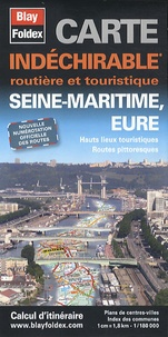 Blay-Foldex - Seine-Maritime, Eure - Carte indéchirable 1/180 000.