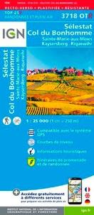 IGN - Sélestat, Col du Bonhomme, Sainte-Marie-aux-Mines, Kaysersberg, Riquewihr - 1/25 000.