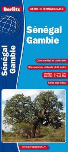 Berlitz - Sénégal - Gambie - 1/740 000 - 1/340 000.
