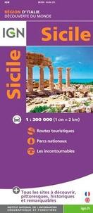 IGN - Sicile - 1/200 000.