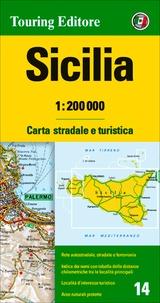 Collectif - Sicile - 1/200 000.