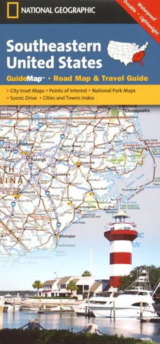 National Geographic - Southeastern United States.
