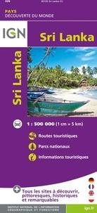 IGN - Sri Lanka - 1/500 000.