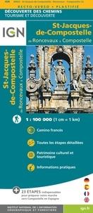 IGN - St-Jacques-de-Compostelle de Roncevaux à Compostelle.