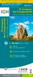 IGN - St-Jacques-de-Compostelle du Puy-en-Velay à Moissac GR 51-1 - 1/100 000.