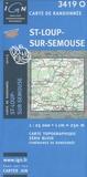 IGN - St-Loup-sur-Semouse - 1/25 000.