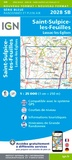 IGN - St-Sulpice-les-Feuilles, Lussac-les-Eglises - 1/25 000.