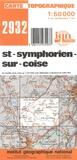 IGN - St-Symphorien-sur-Coise - 1/50 000.