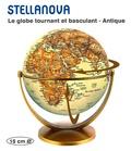 Craenen - Stellanova - Le globe tournant et basculant - Antique - 15 cm.