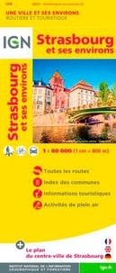 IGN - Strasbourg et ses environs - 1/80 000.