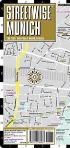 Michelin - Streetwise Munich, 1/14 000 - City Center Street Map of Munich, Germany.