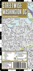 Michelin - Streetwise Washinghton DC, 1/31 000 - City Center Street Map of Washington DC.