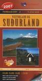 Ferdakort - Sudurland - Ouest et Sud Islande 1/250 000.
