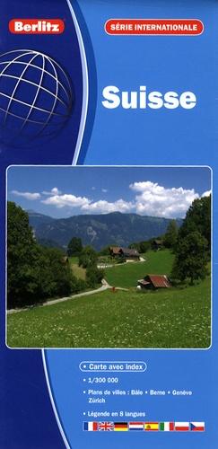 Berlitz - Suisse 1/300 000.