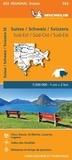 Michelin - Suisse Sud-Est - 1/200 000.