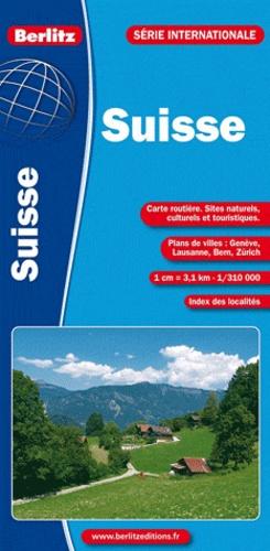 Berlitz - Suisse - 1/300 000.