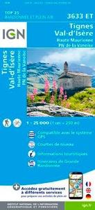 IGN - Tignes Val-d'Isère Haute Maurienne PN de la Vanoise - 1/25 000.