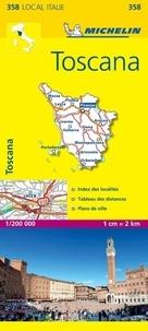 Michelin - Toscana - 1/200 000.