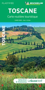 Michelin - Toscane - 1/400 000 Plastifiée.
