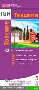 IGN - Toscane - 1/200 000.