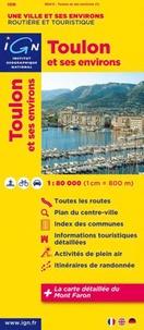 IGN - Toulon et ses environs - 1/80 000.