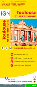 IGN - Toulouse et ses environs - 1/80 000.