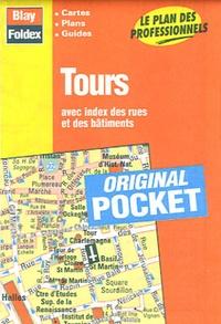 Blay-Foldex - Tours - Avec index des rues et des bâtiments.