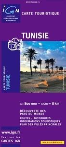 IGN - Tunisie - 1/800 000.