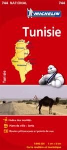 Michelin - Tunisie - 1/800 000.
