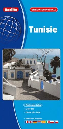 Berlitz - Tunisie - 1/800 000.