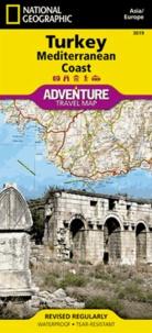 National geographic society - Turkey Mediterranean Coast - 1/760 000.