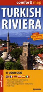 Express Map - Turkish riviera - Road map 1/1 000 000.