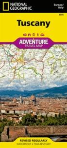National geographic society - Tuscany - 1/220 000.