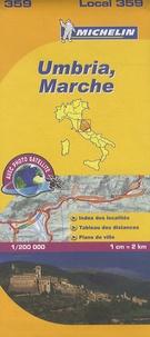 Michelin - Umbria, Marche - 1/200 000.