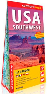 Express Map - USA Southwest - 1/1 350 000.