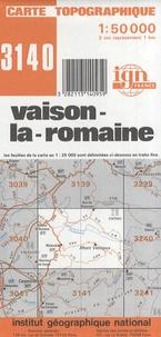 Vaison-la-Romaine - Carte topographique 1/50 000.pdf