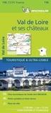 Michelin - Val de Loire et ses châteaux - 1/150 000.