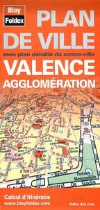 Blay-Foldex - Valence agglomération - Plan de ville.