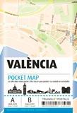 Triangle Postals - Valence pocket map.