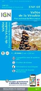 IGN - Vallée de la Vésubie, Parc national du Mercantour - 1/25 000.